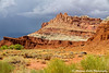 A Storm upon the Castle - Capitol Reef National Park by Adrienne's Travels