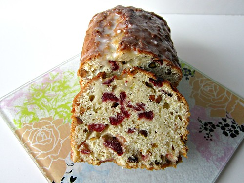 Apple-Cranberry-Pistachio Bread