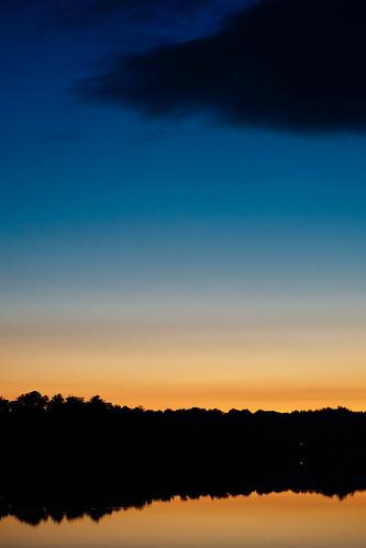 sunset summer lake reflection skåne sverige f12 57mm 2013 skånelän tjörnarp xpro1 konicahexanonar tjörnarpssjön kiponadapter vscofilm04 fprovia400xvibrant