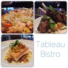 [PIC] Wow! Delicious dinner at @TableauBistro! John's 1st French dining experience in Van