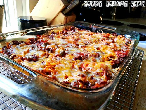 Lee's Baked Spaghetti