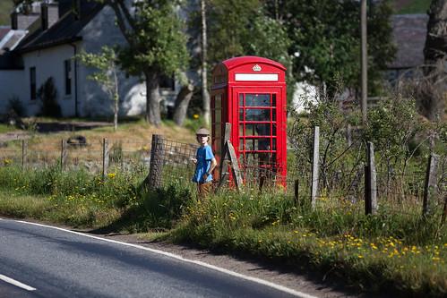 Telephone Box; copyright 2013: Georg Berg