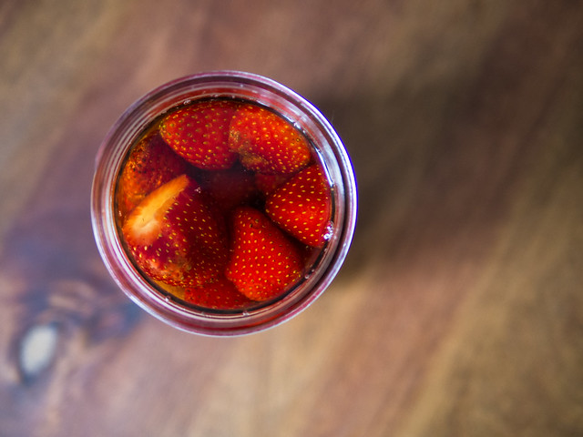 Strawberry Rum   Intro to Preserving (Infusing) Strawberry Rum October Easy Preserves