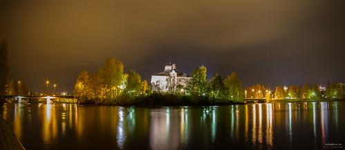 water canon suomi finland river landscape nightview joensuu cityview kaupunki pielisjoki valokuvaus pielisjoenlinna yömaisema