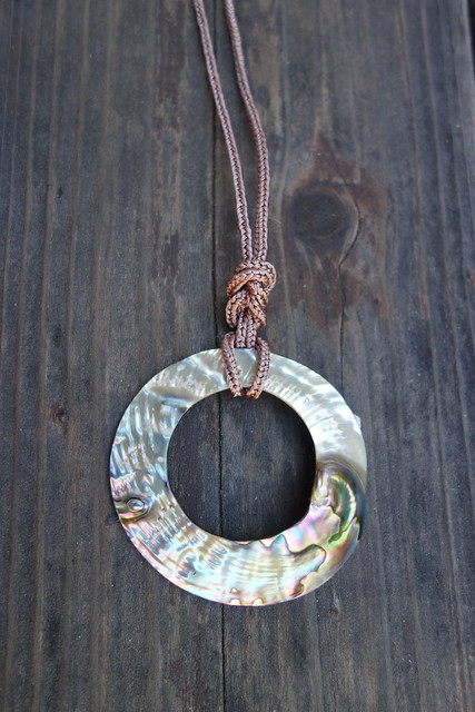Lucet Cord Necklace