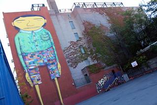 NYC - Chelsea: PS 211 - Os Gêmeos