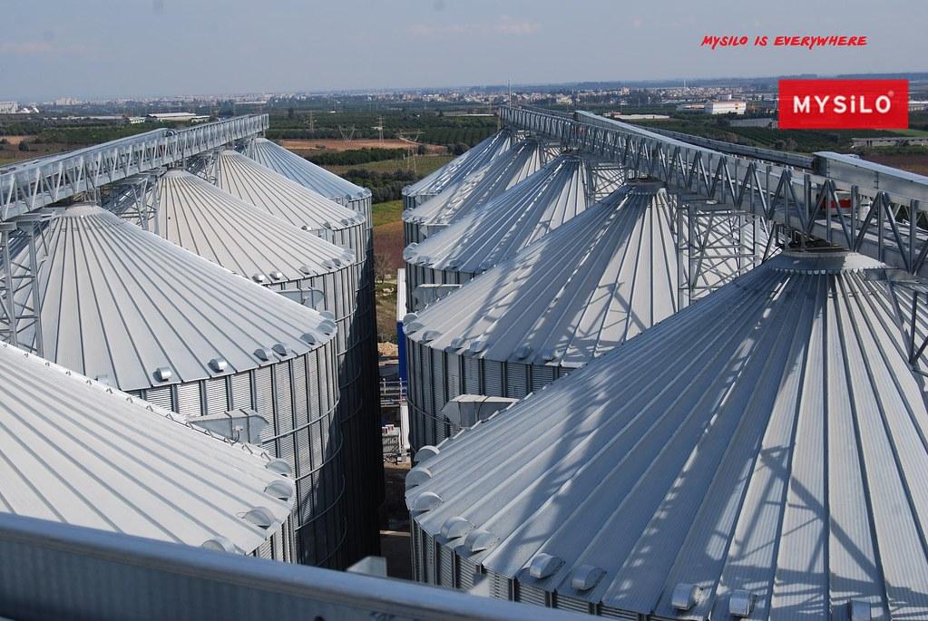 Mysilo Grain Storage Silo Roof Structure