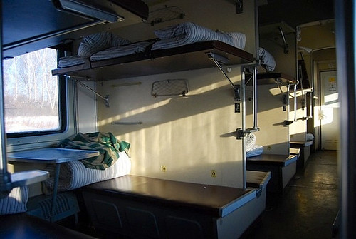 Vagón de tercera clase -Transiberiano