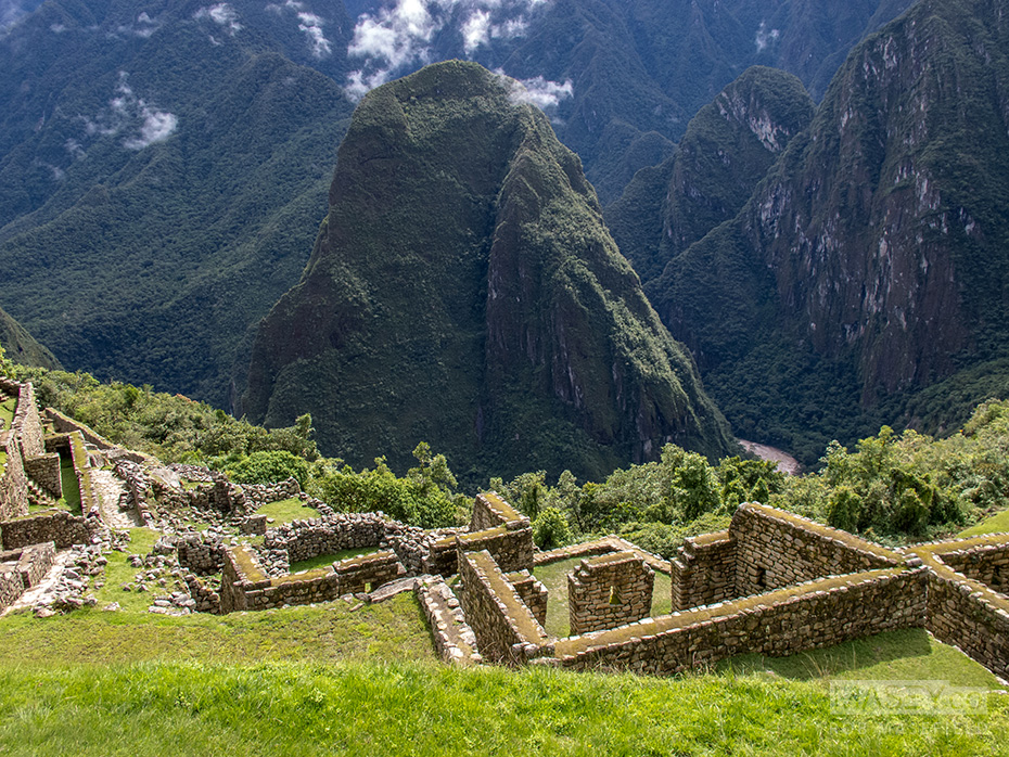 Exploring more areas of beautiful Machu Picchu.