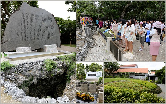 Himeyuri Peace Memorial Museum honours the 200+ students and teachers who were mobilised as nurses in the Battle of Okinawa; of whom 227 died