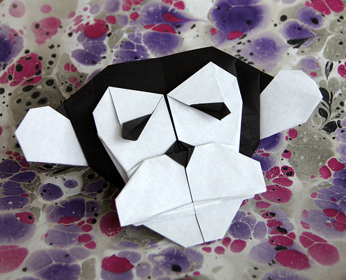 Origami Chimpanzee Mask (Quentin Trollip)