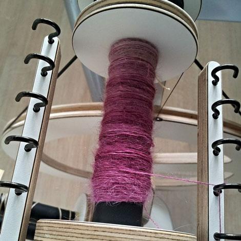 Dutch wool diva fibers