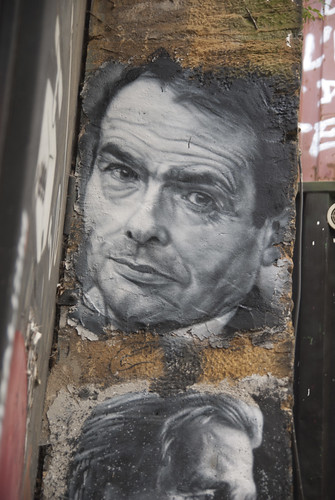 Pierre Bourdieu, painted portrait DDC_8927