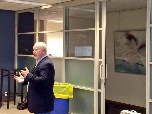 Patrick Zuroske, Capital Program Manager for the City of Rockford explains the first challenge