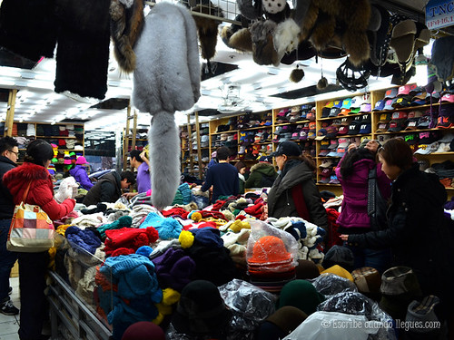 Una de las activiadades obligadas en Seúl es acudir a uno de los numerosos mercados que existen y que venden todo tipo de cosas imaginables
