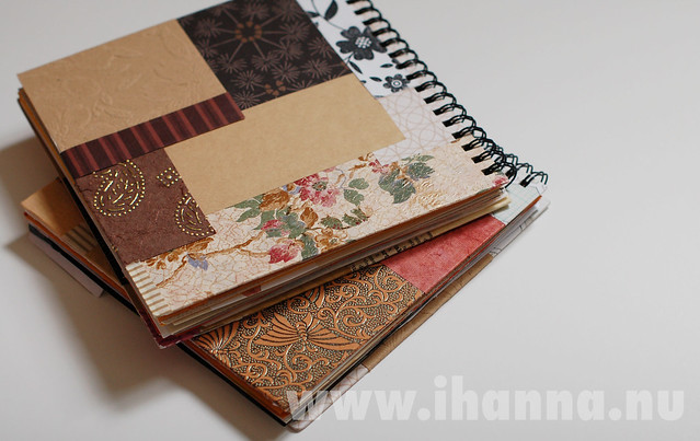 Two new brown SmArt Journals
