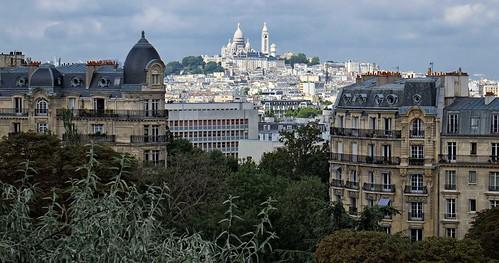 View from Parc des Buttes-Chaumont