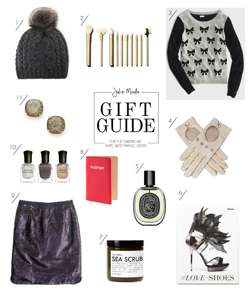 Julip Made 2013 holiday gift guide girlfriend wife bestfriend sister