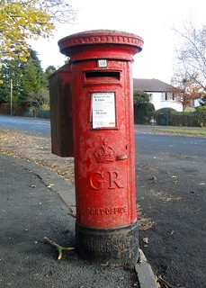 George V Carron Co. Pillar Box, Langbar Rd., Ilkley