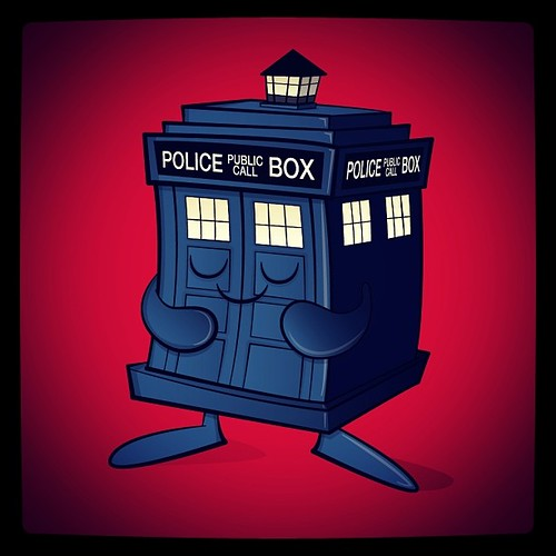 Tardis vectored up! by [rich]