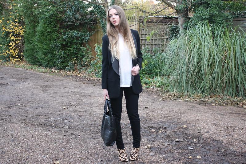 Topshop Baxter black jeans