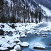 Sonamarg Winter Through Sind River by Sayid Budhi