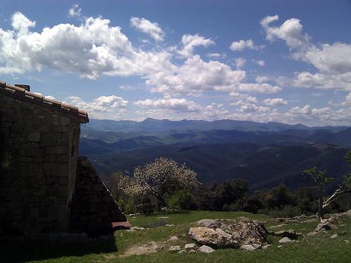 El Serradell_cloud view