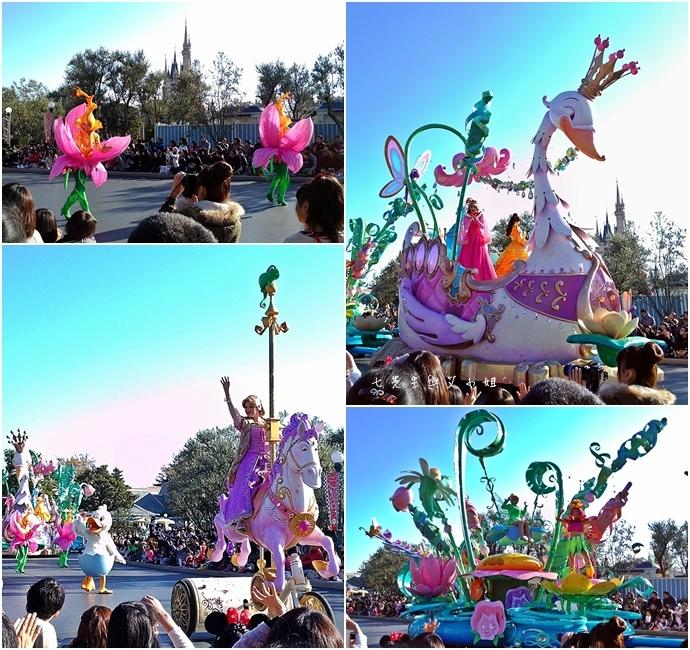 8 迪士尼聖誕村大遊行幸福在這裡夢之光大遊行