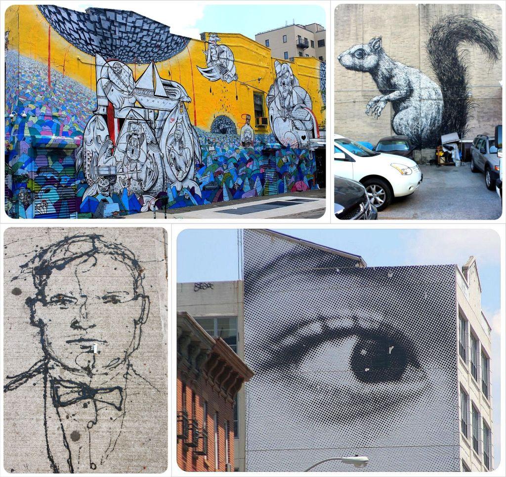 Street Art in Williamsburg Brooklyn