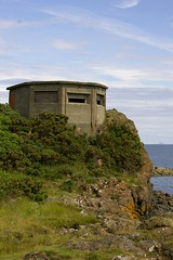 Pill Box at Braefoot Point, Dalgety Bay, Fife, Scotland...