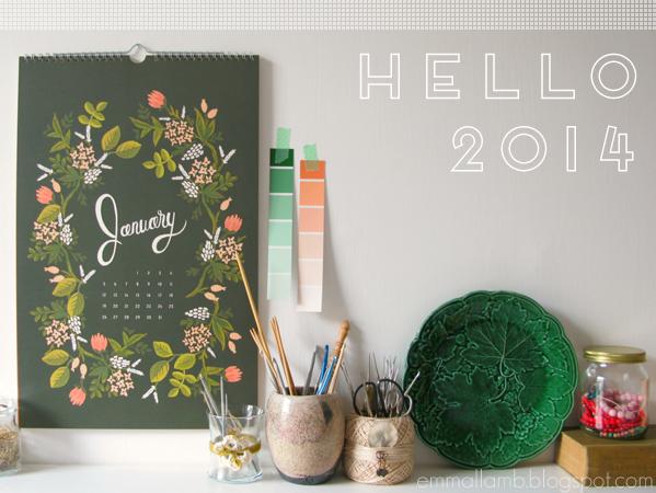 Hello 2014! | Emma Lamb