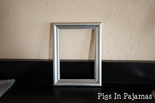 Painted frame