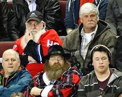 Santa in the crowd