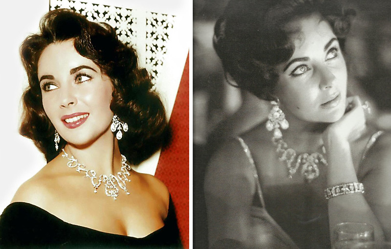 Elizabeth Taylor's diamonds