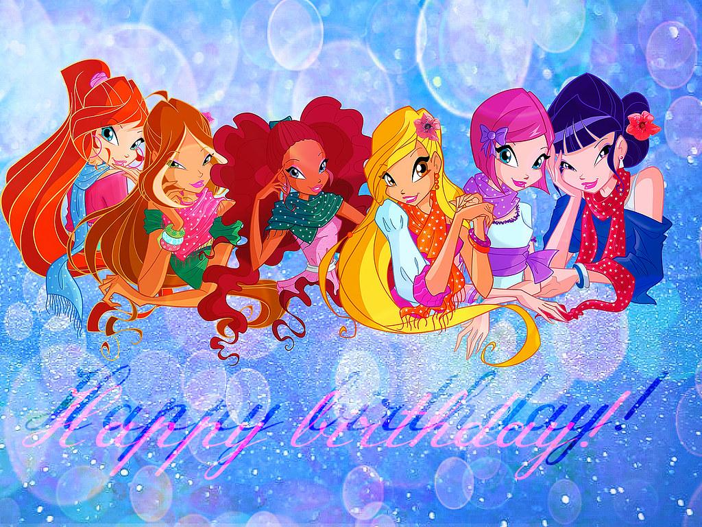 Winx birthday