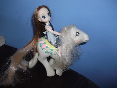 Obitsu were made for riding My Little Pony
