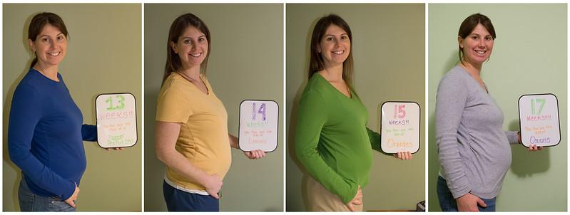 Belly photo week 13-17