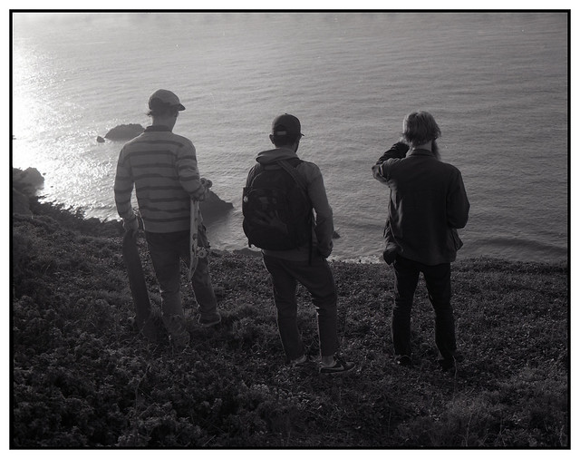 Evan, Johnny and Espen. San Francisco, CA. October, 2013.