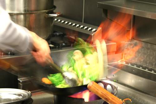 Cuisine ouverte de l'Asia Restaurant