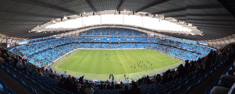 Etihad Stadium, Manchester.