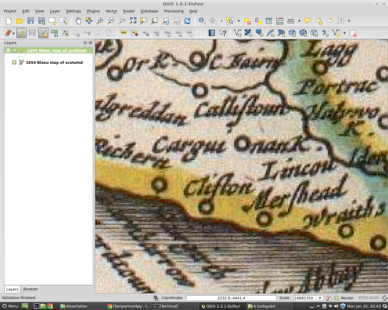 Georeferencing vector data using QGIS and ogr2ogr | GIS for