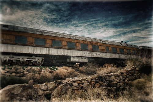 The Rio Grande Castle Peak Dining Car by hbmike2000