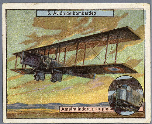 013- Avion de bombardeo-Aviones y aviadores-SF-Biblioteca Digital Hispania