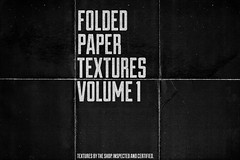 Folded paper textures I and II