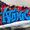 Atomic #StreetArt #graffiti #greenpoint #Brooklyn #NYC