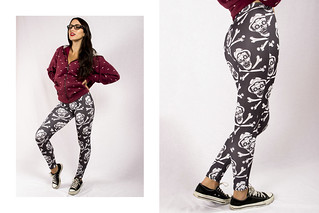 VECTORS NOT DEAD leggins by NVPOLEON + GIACARI