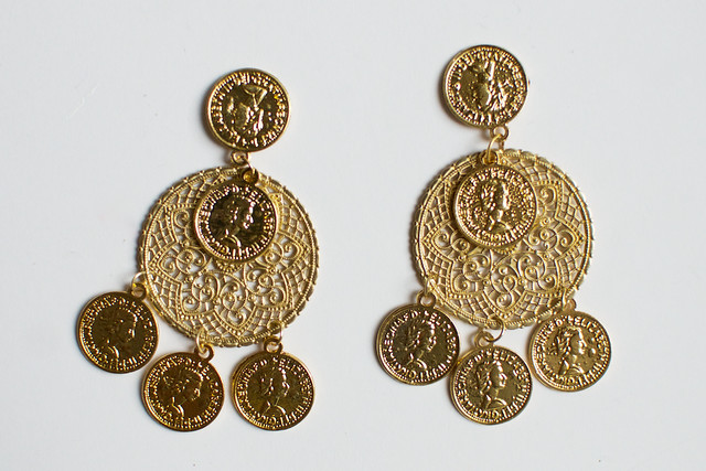 us dolce gold and product gabbana pp en clip swarovski earrings cross in plated crystal