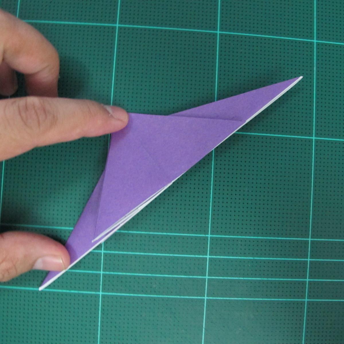 วิธีพับกระดาษเป็นรูปนกอินทรี (Origami Eagle) 002