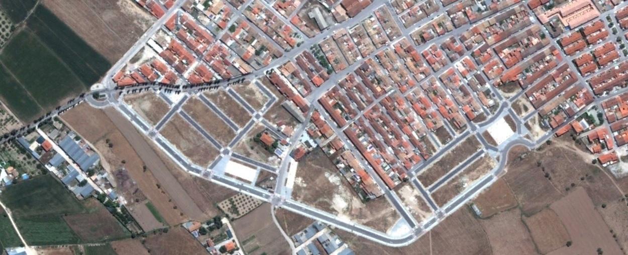 después, urbanismo, foto aérea,desastre, urbanístico, planeamiento, urbano, construcción,Huéscar, Granada
