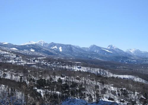 蓼科高原と八ヶ岳連峰 2014年3月22日10:07 by Poran111
